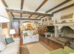 Vista 2 salotto e cucina depandance trilocale